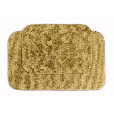 Glamor Bath Rug Color: Linen
