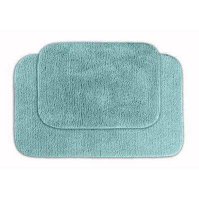 Glamor Bath Rug Color: Sea Foam