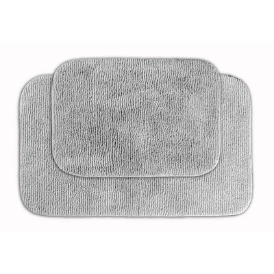 Glamor Bath Rug Color: Platinum Gray