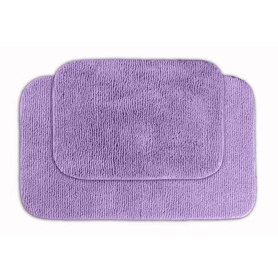 Glamor Bath Rug Color: Purple