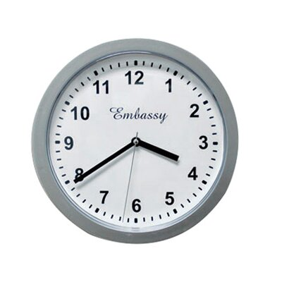 """Trademark Home Collection 10"""" Wall Clock Safe"""