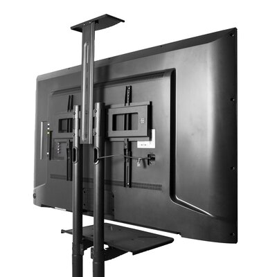 "Mobile TV Fixed Floor Stand Mount for Greater than 50"" Flat Panel Screen"