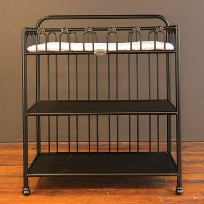 Joy Changing Table Color: Black