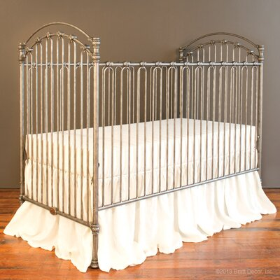 Venetian II 3-in-1 Convertible Crib Color: Pewter