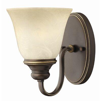 Hinkley Cello 1 Light Semi-Flush Wall Light