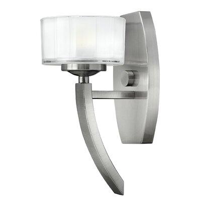 Hinkley Merdian 1 Light Semi-Flush Wall Light
