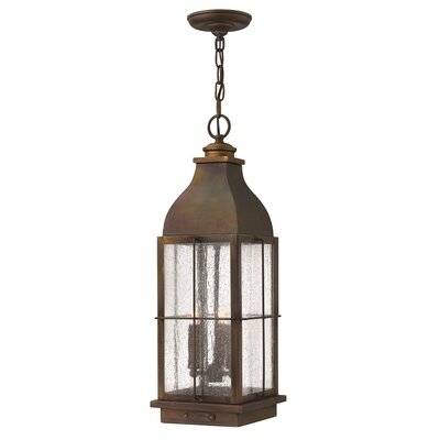 Hinkley Bingham 3 Light Outdoor Hanging Lantern