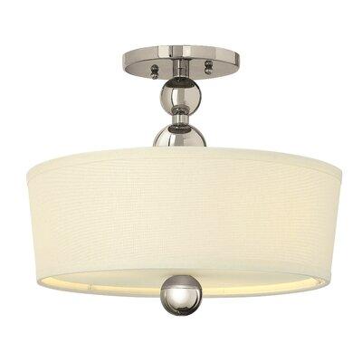 Hinkley Zelda 3 Light Semi-Flush Ceiling Light