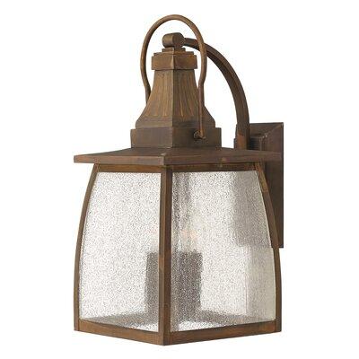 Hinkley Montauk 2 Light Outdoor Wall Lantern