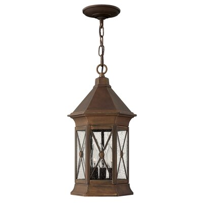 Hinkley Brighton 3 Light Hanging Lantern