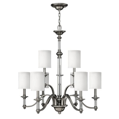 Hinkley Sussex 9 Light Chandelier
