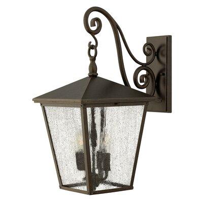 Hinkley Trellis 4 Light Outdoor Wall Lantern