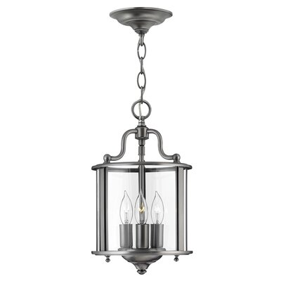 Hinkley Gentry 3 Light Foyer Pendant