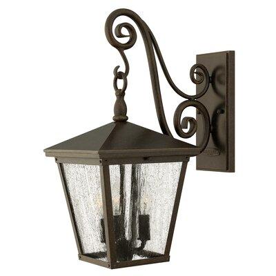 Hinkley Trellis 3 Light Outdoor Wall Lantern