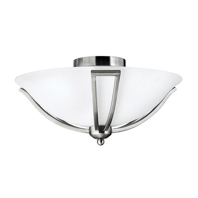 Hinkley Bolla 2 Light Semi-Flush Ceiling Light