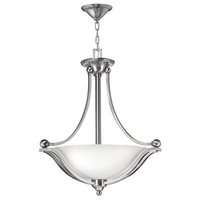 Hinkley Bolla 3 Light Inverted Pendant