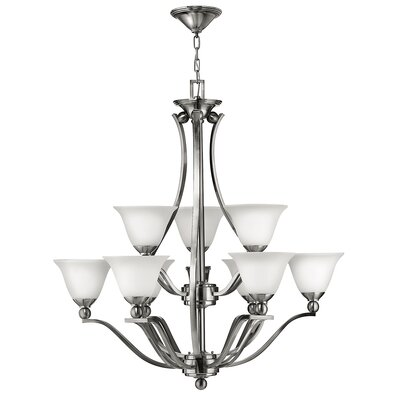 Hinkley Bolla 9 Light Chandelier