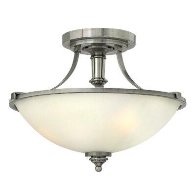 Hinkley Truman 3 Light Semi-Flush Ceiling Light