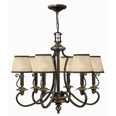Hinkley Plymouth 6 Light Chandelier