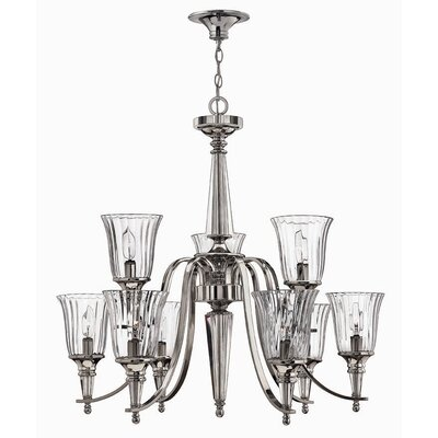 Hinkley Chandon 9 Light Candle Chandelier