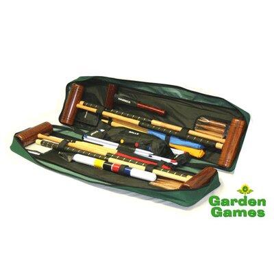 Garden Games Townsend 4 Player Croquet Set