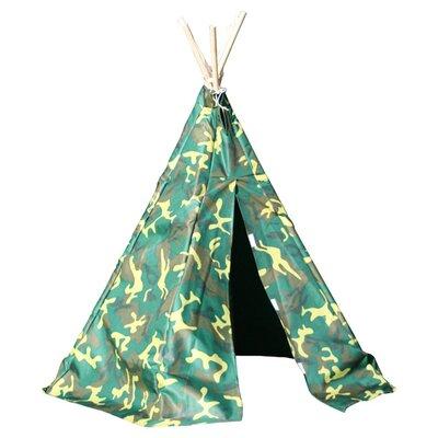 Garden Games Camouflage Wigwam Play Tent