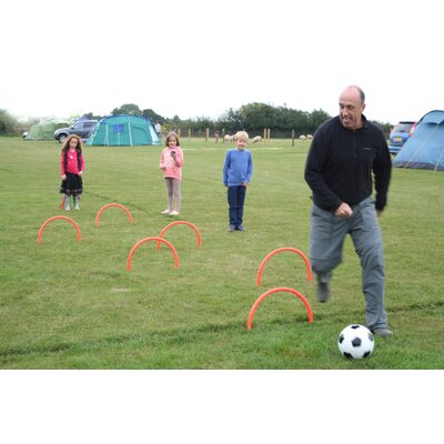 Garden Games Croqkick Football Skills Game