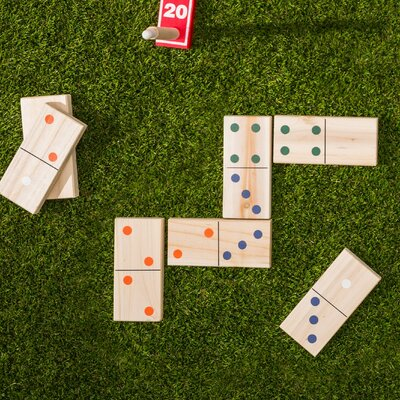 Garden Games Giant Dominoes Game