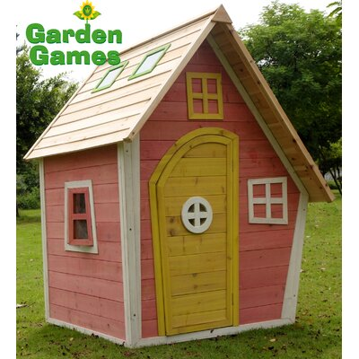 Garden Games Crooked Cottage Playhouse