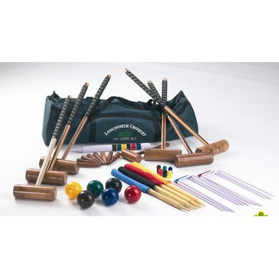 Garden Games Longworth 6 Player Croquet Set in a Bag
