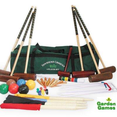 Garden Games Townsend 6 Player Croquet Set in a Bag