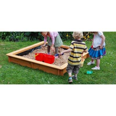 Garden Games 150cm Square Sandpit