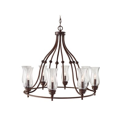 Feiss Pickering Lane 8 Light Candle Chandelier