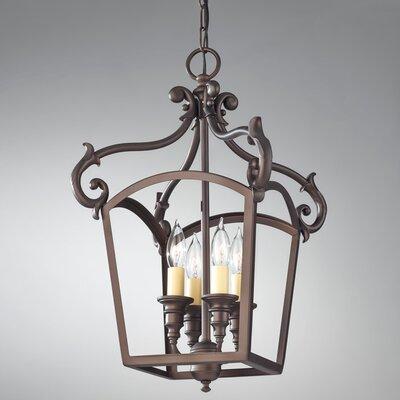 Feiss Luminary 4 Light Foyer Pendant
