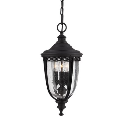 Feiss English Bridle 3 Light Outdoor Hanging Lantern