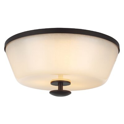 Feiss Huntley 3 Light Flush Mount