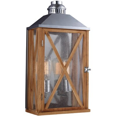 Feiss Lumiere 2 Light Outdoor Wall Lantern