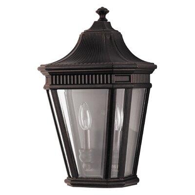 Feiss 2 Light Outdoor Wall Lantern