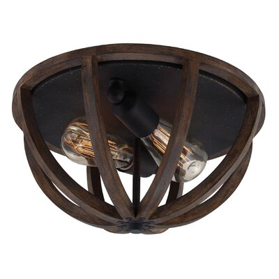 Feiss Allier 2 Light Flush Mount