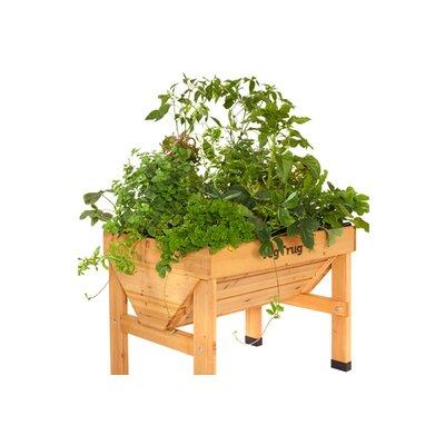 Veg Trugs Fir Wood Raised Garden Size: Small