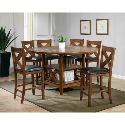 Arya 7 Piece Counter Height Dining Set