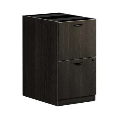 "BL Series 27.75"" H x 15.63"" W Desk File Pedestal Finish: Espresso"