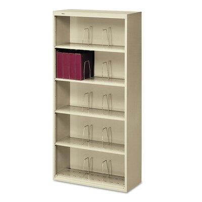 """600 Series 75.5"""" H Six Shelf Open Shelving Unit Finish: Putty"""