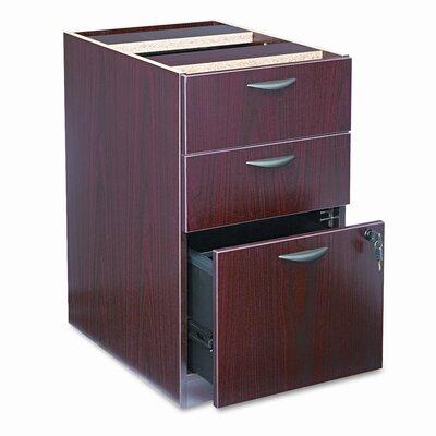 """27.75"""" H x 15.625"""" W Desk File Pedestal"""