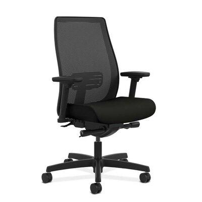 Endorse Mesh Desk Chair Upholstery: Black