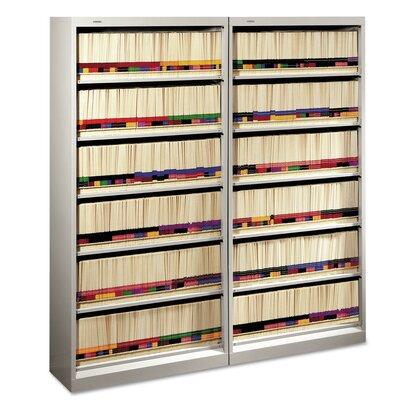 "600 Series 75.5"" H Six Shelf Open Shelving Unit Finish: Light Gray"