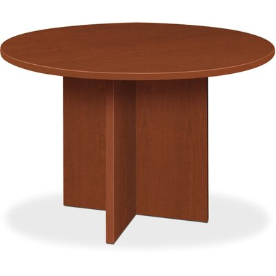 "Circular 29.5""H x 48""W x 48""L Conference Table Finish: Medium Cherry"