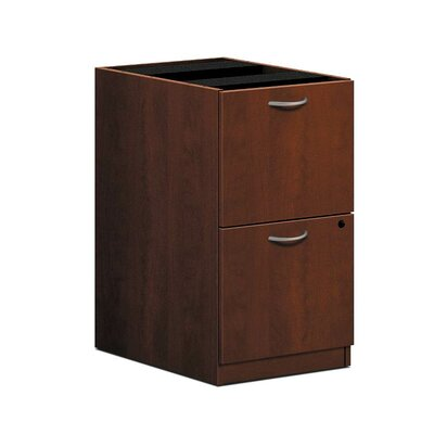 "BL Series 27.75"" H x 15.63"" W Desk File Pedestal Finish: Medium Cherry"