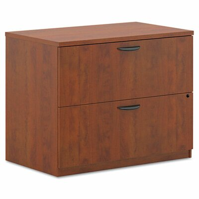 2-Drawer Lateral Filing Cabinet Finish: Cherry