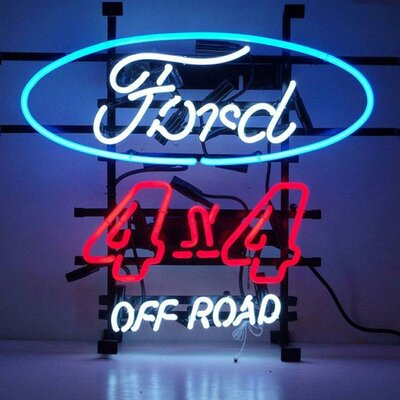 Neonetics Cars and Motorcycles Ford Off Road Neon Sign